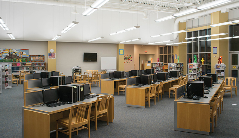 NJ Public School District - Revolution Lighting Technologies