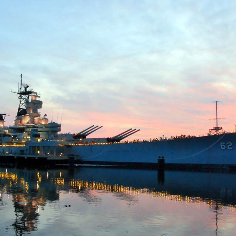LED Lighting Reduces Operational Costs for Battleship New Jersey Memorial