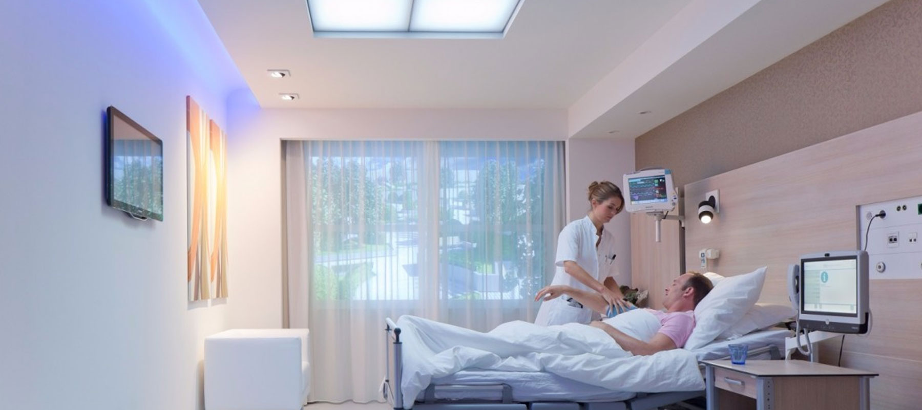 Benefits of LEDs and Controls in Hospitals and Healthcare Facilities