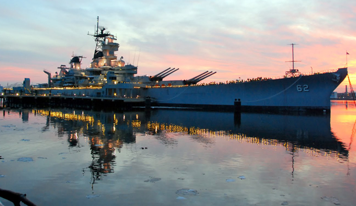 Revolution Lighting Technologies Awarded Contract for LED Retrofit of Battleship New Jersey Museum & Memorial