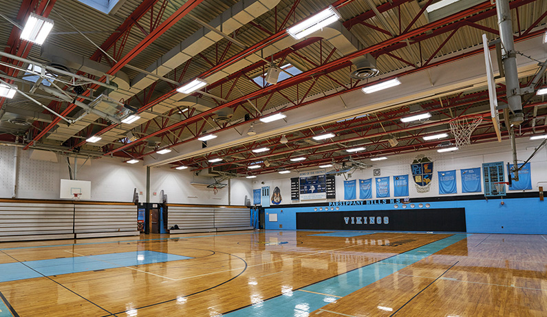NJ Public School District - Revolution Lighting Technologies